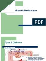 Anti Diabetic Medications