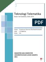 Tugas Akhir Matrikulasi - Teknologi Telematika