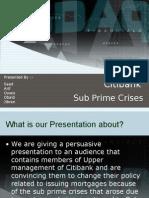 Subpirme Crises