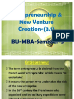 Entrepreneurship New Venture Creation 31 Module 1712 110909070051 Phpapp01