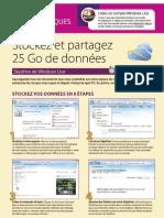 SkyDrive Stockage Partage de Donnees