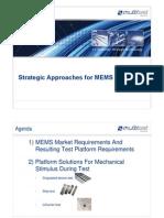 11._15301600_Stragegic Approaches for MEMS Test_Semicon Taiwan 2011