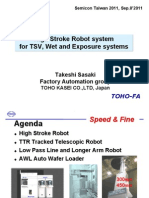 2_High Stroke Robot System_Semicon Taiwan 2011