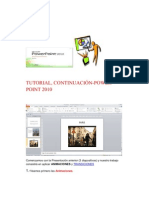 Tutorial_continuación Power Point 2010