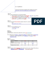 Chemistry F4 005