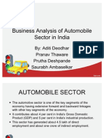 Business Analysis of Auto Indusrty