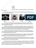 Britpop and Its Influences