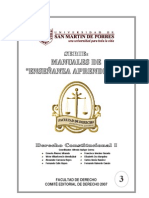 USMP - Derecho Constitucional I