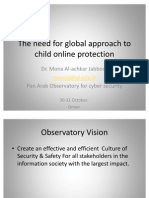 The Need for Global Approach to Child Online