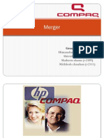 M&A of HP-Compaq with Financial Implication
