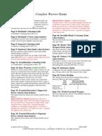 D&D 3.5 Edition - Complete Warrior Errata 08012005