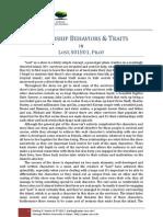 "Leadership Behavior and Traits in ""Lost"", S01E01, Pilot"