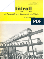 The Minirail at Expo 67 and Man and His World by Anthony Clegg