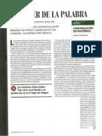 Comunicación Estratégica® - El poder de la palabra - Nota Revista Fortuna - Daniel Scheinsohn
