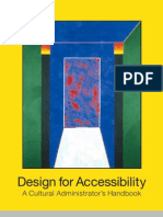 Design for Accessibility An Administrator's Handbook