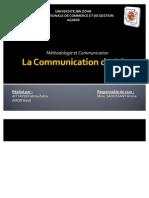 La Communication de Crise (1)