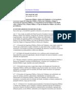Lei Que Institui SSPDS E Corregedoria