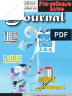 ZDA Journal..  Zero issue