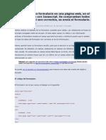 Cómo validar un formulario en una página web