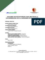Opcion Silvopastoril Sostenibilidad Ganadera