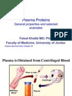 Plasma Proteins 1
