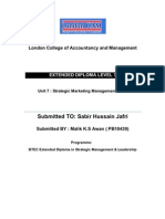 U-7 Strategic Marketing Management