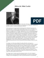 Filosofia Política de John Locke