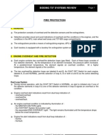 B737-Fire Protection Systems Summary