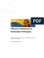 Influence of Nietzsche on Postmodern Philosophy - Fahad Bombaywala