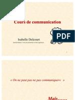 Cours de Communication. Isabelle Delcourt.id (1)