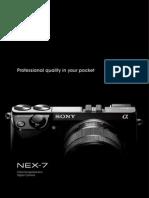 Nex 7 Brochure Sonyalphanex.blogspot