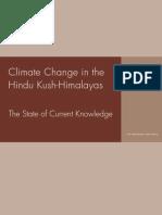 Icimod-climate Change in the Hindu Kush-himalayas