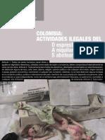 Colombia Actividades Ilegales Del DAS