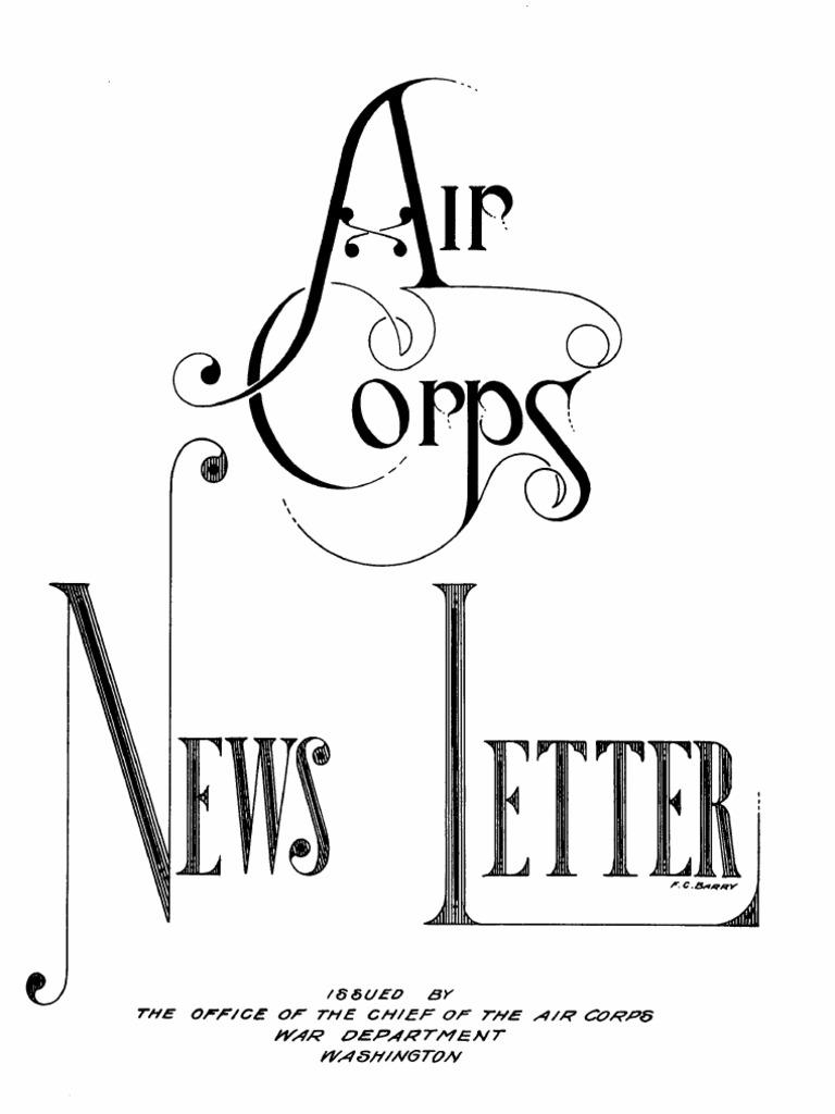 Air Force News ~ Jul-Dec 1939 | Military Organization | Military on