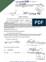 Sundberg Complaint