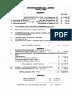 Informe económico de la gestión FEDIPA 2000