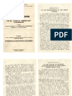 1929 Resolution of the 7th Anual Congress of the MacedonIan Emigrant Assotiations