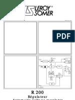 Leroy Somer R221 Manual