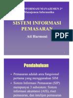 SI Pemasaran