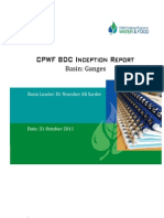 Ganges BDC Inception Report