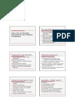 Case Analysis Reports & Presentation Tips