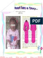 Every Heart Has a Story by Ms. Glorioso