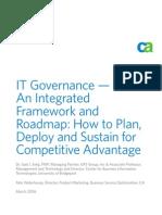 CA Clarity IT Governance Whitepaper