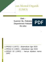 Bms166 Slide Gangguan Mental Organik Atau Gmo