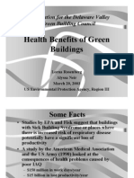 health benefits of green buildings
