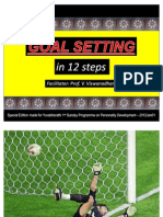 2012Jan01 - Goal Setting in 12 Steps