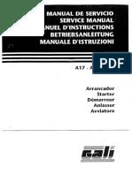Gali A17 - A27 -A47 Service Manual