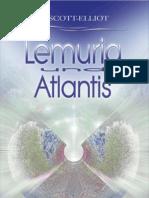 W. Scott-Elliot - Lemuria Und Atlantis