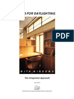 tips for daylighting with windows