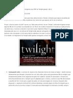 Abrangente Guia TMF de Twilight - Parte 1